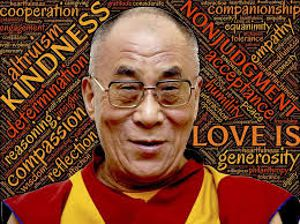 Dalai Lama Kindness in knowing myself