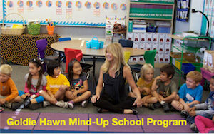 Goldie Hawn Mind-Up School Program