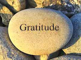 Gratitude and Fear
